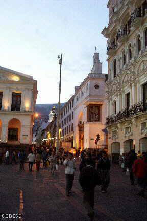 Plaza Grande - Quito Colonial