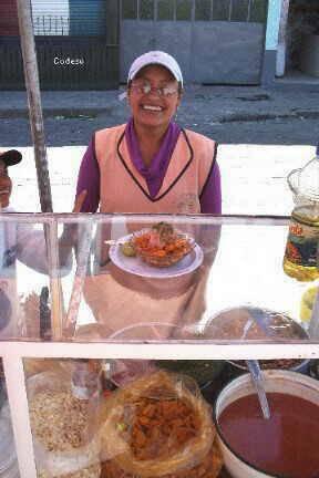 Una de las comidas típicas de Riobamba son los ceviches de chocho con ...
