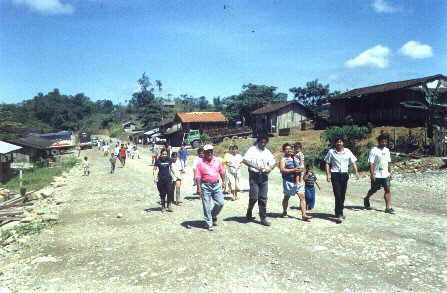 View on the community of Durango Photo