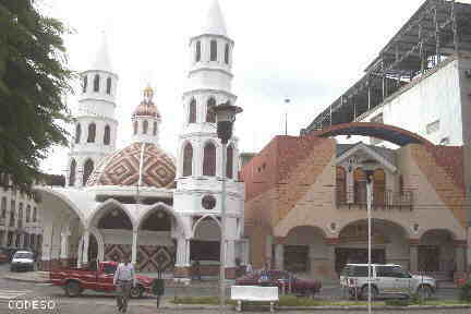 Center of Portoviejo - Capital of the Province Manabi