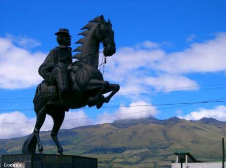 Machachi - Pichincha - North entrance to the Cotopaxi National Park