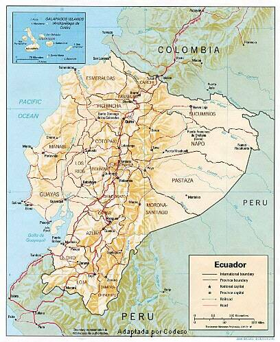 """CLICK"" to see the map of Ecuador"